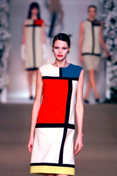 Exceptionnel Moda e arte negli anni '60: Piet Mondrian e Yves Saint Laurent  SB24